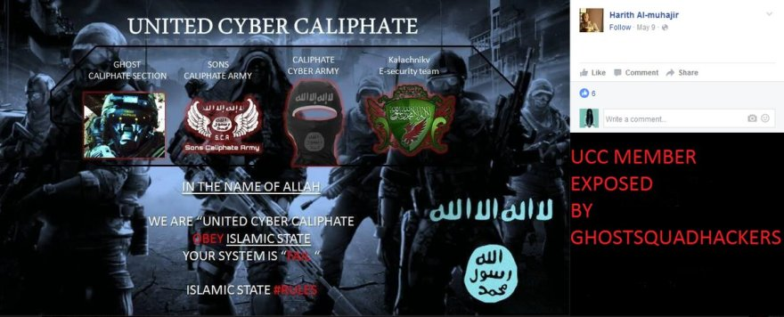 "GSH exposed ""United Cyber Caliphate"""